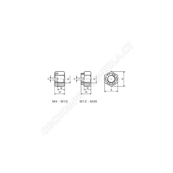 Korunova Matice M12 Zn Csn 02 1411 Obchod Pro Remesla
